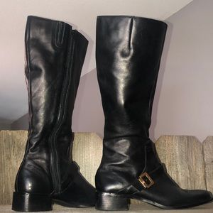 Etienne Aigner Leather Boots
